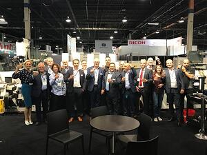 1.Team MPS at booth 911 at Labelexpo Americas 2018-1