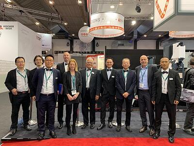 MPS Asia and Asian agents at Labelexpo Europe 2019