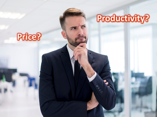 Price VS Productivity