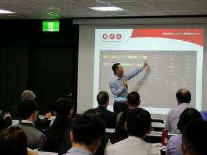 George Tan presents Connectivity in the Label Industry at Taiwan Seminar
